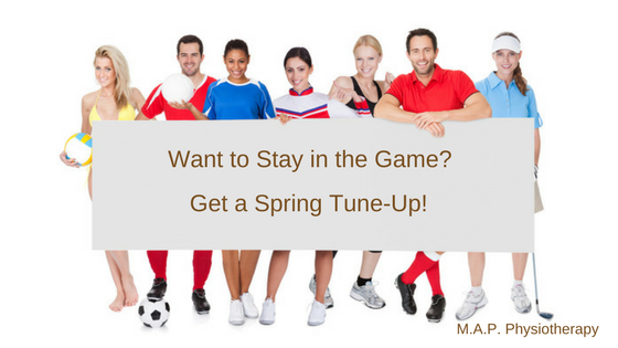 Spring Tune-Ups for Injury Prevention